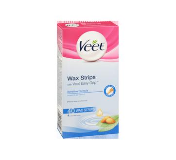 Image 2 of product Veet - Easy-Gel Wax Strips Body & Legs Sensitive Skin, 44 units