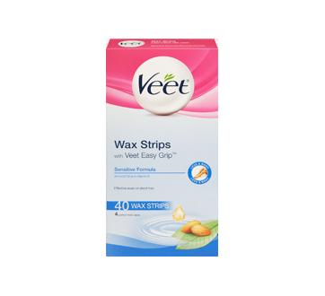 Image 3 of product Veet - Easy-Gel Wax Strips Body & Legs Sensitive Skin, 44 units
