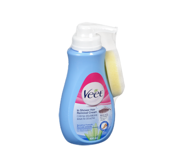 Image 2 of product Veet - Silky Fresh In-Shower Hair Removal Cream, Legs & Body, Sensitive Skin, 400 ml