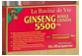Thumbnail of product La Racine de Vie - Chinese Reg Ginseng 5500mg, 10 x 10ml