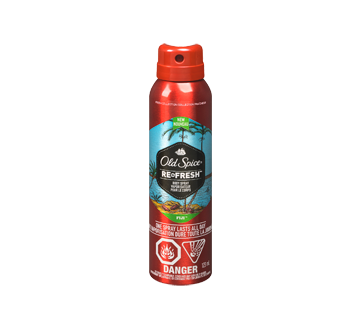 Fresher Collection Men's Body Spray, 123 ml, Fiji