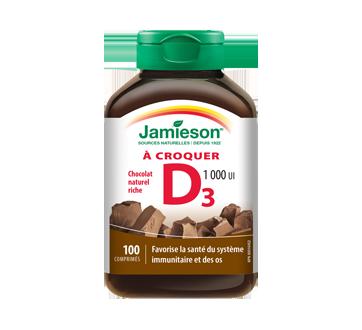 Image of product Jamieson - Chewable Vitamin D 1,000 IU, 100 units