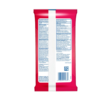Image 2 of product Wet Ones - Antibacterial Hand Wipes, 20 units, Fresh Scent