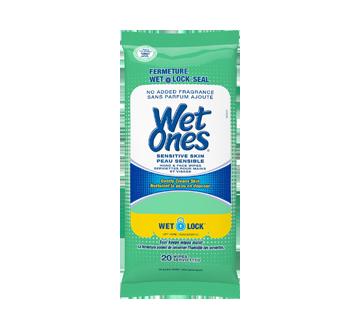 Sensitive Skin Alcohol-Free Hand Wipes, 20 units