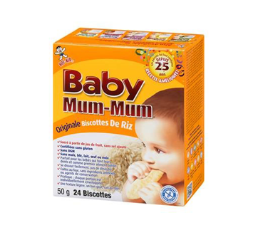 Hot-Kid Baby Mum-Mum, 50 g, original