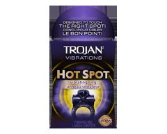 Image of product Trojan - Vibrations Hot Spot Vibrating Ring