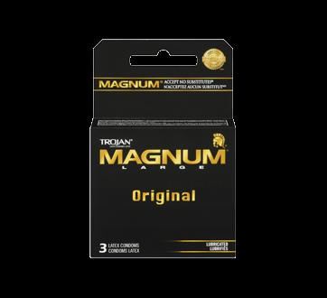 Image 3 of product Trojan - Magnum Lubricated Condoms, 3 units