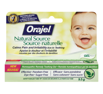 Image of product Orajel - Natural Source Homeopathic Gel, 9.5 g