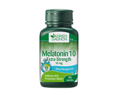 Image of product Adrien Gagnon - Melatonin Extra-Strength 10 mg, 90 units