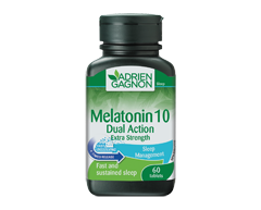 Image of product Adrien Gagnon - Melatonin Dual Action Extra-Strength, 60 units