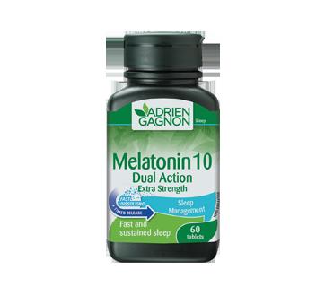 Image of product Adrien Gagnon - Melatonin Dual Action Extra-Strength, 60 units
