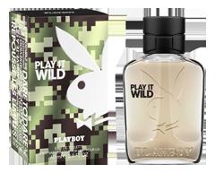 Image of product Playboy - Play It Wild Eau de Toilette for Him, 60 ml