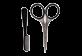 Thumbnail 2 of product Revlon - Men's Series Moustache Scissor and Comb, 2 units