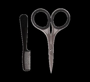 Image 2 of product Revlon - Men's Series Moustache Scissor and Comb, 2 units