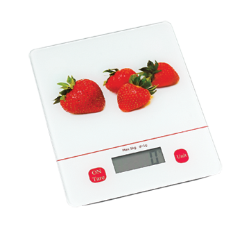Kitchen Scale, Strawberry or Lemon