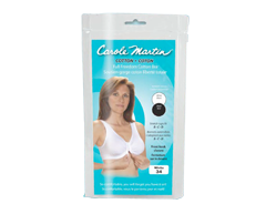 Image of product Carole Martin - Cotton Comfort Bra, 1 unit, 42, White