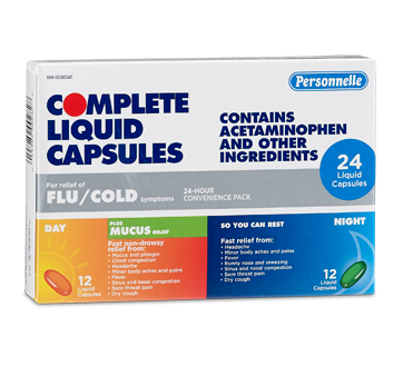 Image of product Personnelle - Complete Liquid Capsules, 12 + 12 units