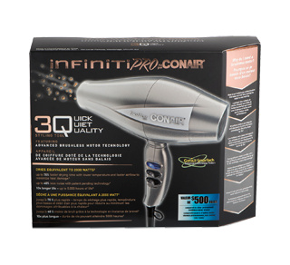 3Q Professional Brushless Motor Hair Dryer, 1 unit