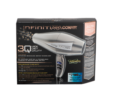 Image 1 of product Infiniti Pro by Conair - 3Q Professional Brushless Motor  Hair Dryer,