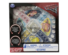 Image of product Disney - Cars 3 Pop-Up Game, 1 unit