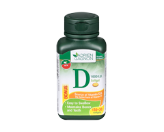 Image of product Adrien Gagnon - Vitamin D Softgels, 150 + 30 units