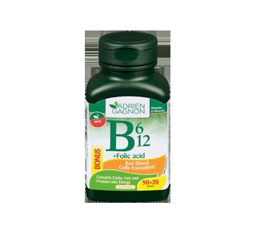 Image of product Adrien Gagnon - B6, B12 + Folic Acid, 90 units