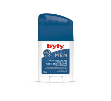 Image of product Byly - Men Antiperspirant & Deodorant Stick, 50 ml
