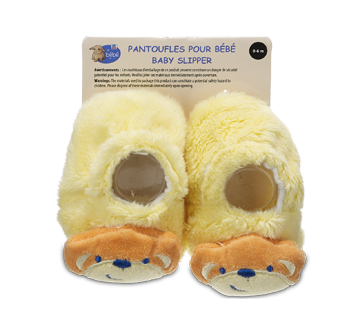 Baby Slippers, 0-6 months