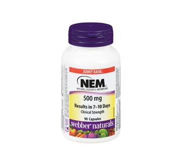 Image of product Webber Naturals - Nem Natural Eggshell Membrane, 90 units