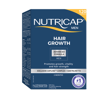 Image of product Nutricap - Nutricap Men Hair and Nails, 120 units