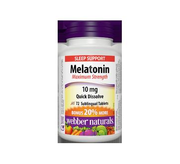 Image of product Webber - Melatonin Maximum Strength, 60 units
