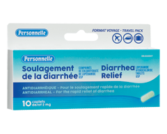 Image of product Personnelle - Diarrhea Relief, 10 units