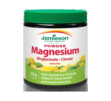 Image of product Jamieson - Magnesium Drink Mix, 228 g, Lemon-Lime
