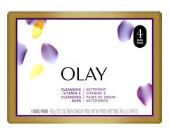 Image of product Olay - Age Defying Moisturizing Soap Bars, 4 x 90 g