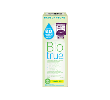 Image of product Bausch and Lomb - Biotrue Multi-Purpose Solution, 60 ml