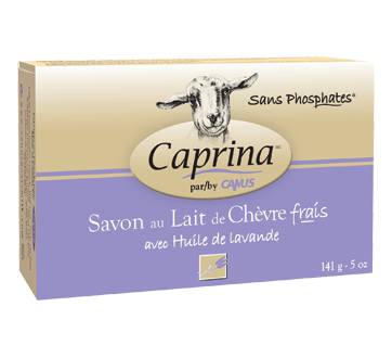 Image 2 of product Caprina - Fresh Goat's Milk Soap, 141 g, Lavander oil