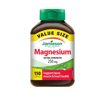 Image of product Jamieson - Magnesium Ulta Strength 250 mg, 150 units