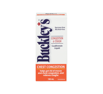 Image 2 of product Buckley - Chest Decongestant Syrup, 150 ml