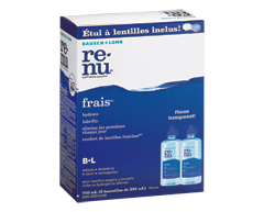 Image of product Bausch and Lomb - Renu Fresh - Multi-Purpose Solution Twin Pack , 2 x 355 ml