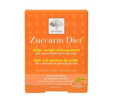 Image 1 of product New Nordic - Zuccarin Diet Blood Sugar Level Tablets, 60 units