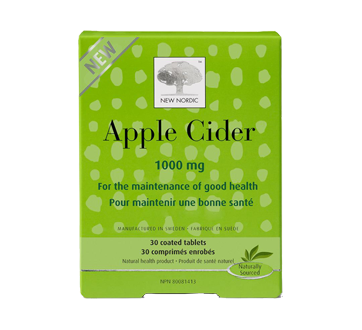 Image 1 of product New Nordic - Apple Cider 1000 mg, 30 units