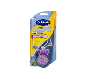 ac4946ee50 Heel Pain Relief Orthotics, 1 pair – Dr. Scholl's : Insole and ...