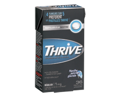 Image of product Thrive - Regular Nicotine Lozenges 1 mg, 36 units, Icy Peppermint