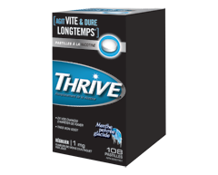 Image of product Thrive - Regular Nicotine Lozenges 1 mg, 108 units, Icy Peppermint