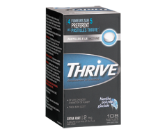 Image of product Thrive - Regular Nicotine Lozenges 2 mg, 108 units, Icy Peppermint
