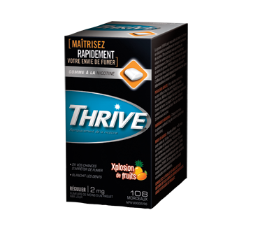 Image of product Thrive - Regular Nicotine Gums 2 mg, 108 units, Fruit Xplosion