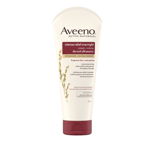 Intense Relief Overnight Cream, 208 ml – Aveeno : Moisturizer