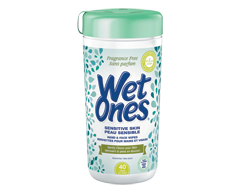 Image of product Wet Ones - Wipes for Sensitive Skin , 40 Pads