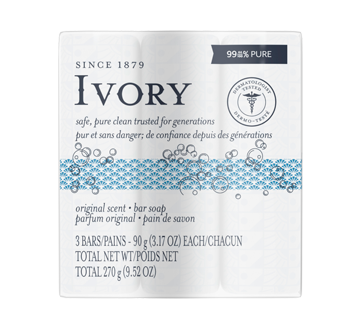 Image 1 of product Ivory - Clean Personal Bar 3 count, 3 x 90 g