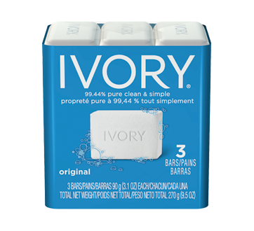 Image 2 of product Ivory - Clean Personal Bar 3 count, 3 x 90 g